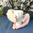 画像12: 有田焼/伊万里陶芸/WA・SA・BI 和茶美-しのぎ立小煎茶碗/銀/Φ5.5X8.3 (12)