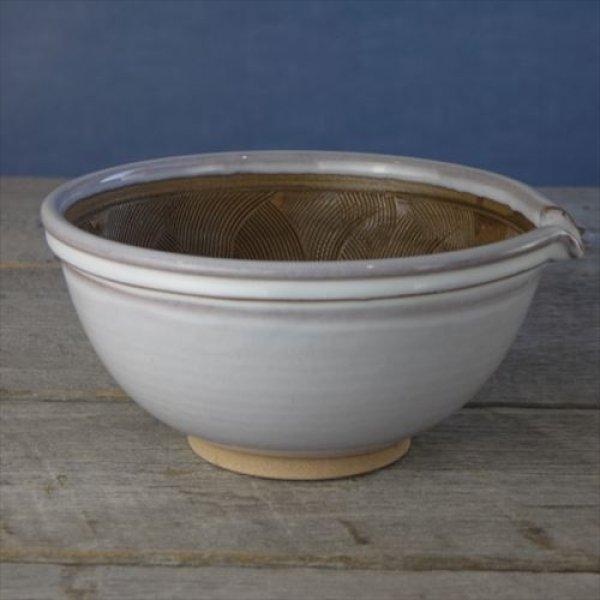 画像1: 小石原焼/圭秀窯/すり鉢(大) /φ19.5×H8 (1)