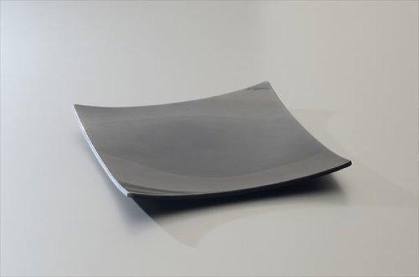 画像1: 山中漆器/北市漆器店/kazeya-style/鉢/メタリックシルバー10.0盛鉢/30.0×30.0×3.5cm (1)