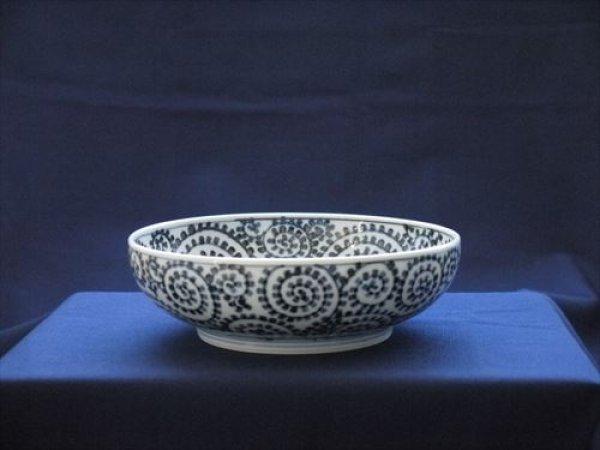 画像1: 有田焼/惣次郎窯/タコ唐草6寸鉢/口径18.5cm・高さ6cm (1)