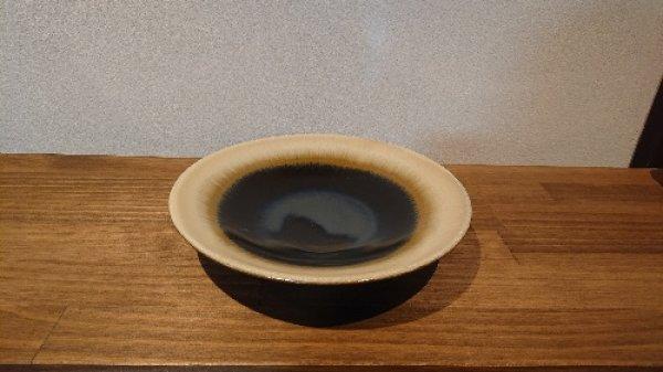 画像1: 丹波立杭焼/省三窯/アメ釉鉢 (1)