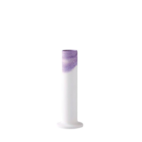画像1: 有田焼/ヤマト陶磁器/瀬兵窯/KUSAKI/Flower Vase S/LOGWOOD(紫)/Φ6×18cm (1)