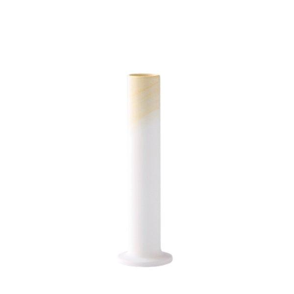 画像1: 有田焼/ヤマト陶磁器/瀬兵窯/KUSAKI/Flower Vase M/YAMAMOMO(黄)/Φ6×21cm (1)