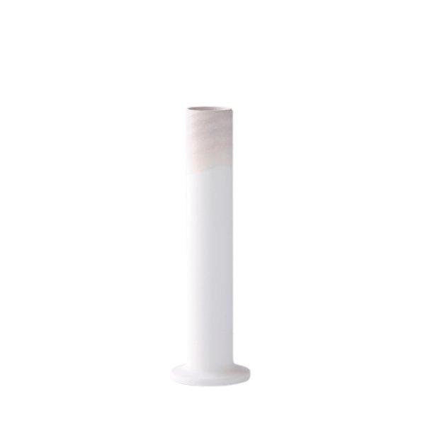 画像1: 有田焼/ヤマト陶磁器/瀬兵窯/KUSAKI/Flower Vase M/GOBAISHI(グレー)/Φ6×21cm (1)