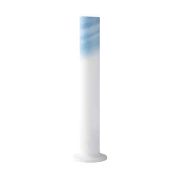 画像1: 有田焼/ヤマト陶磁器/瀬兵窯/KUSAKI/Flower Vase L/AI(青)/Φ6×25.5cm (1)