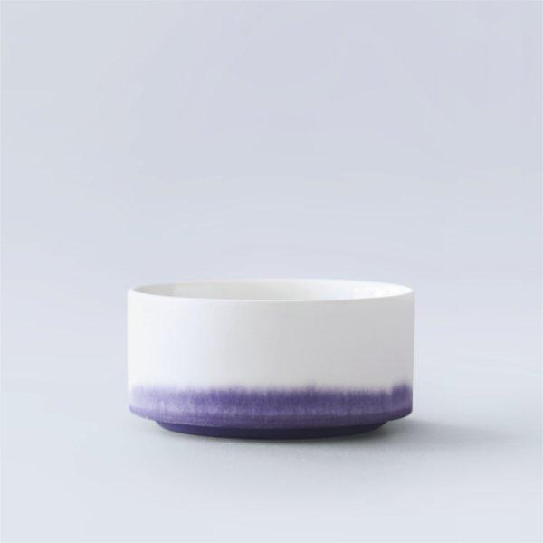 画像1: 有田焼/ヤマト陶磁器/瀬兵窯/KUSAKI/Container/LOGWOOD(紫)/Φ10×4.8cm (1)