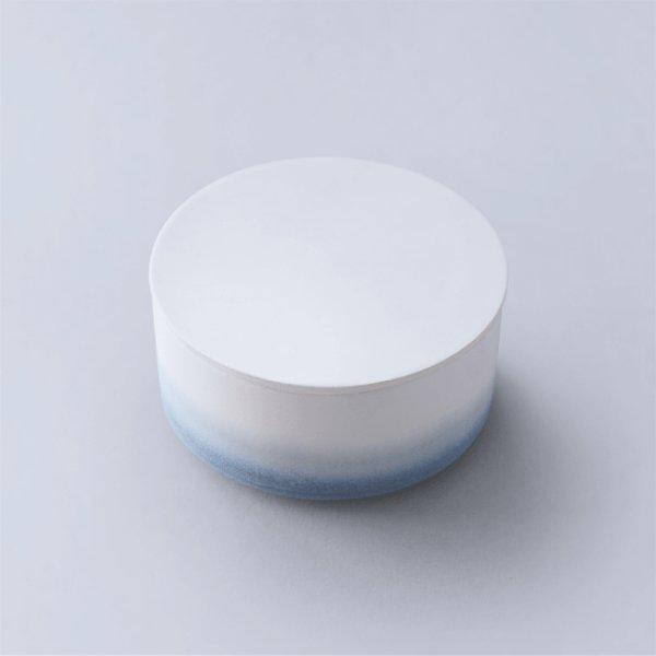 画像1: 有田焼/ヤマト陶磁器/瀬兵窯/KUSAKI/Container lidded/AI(青)/Φ10×5.1cm (1)