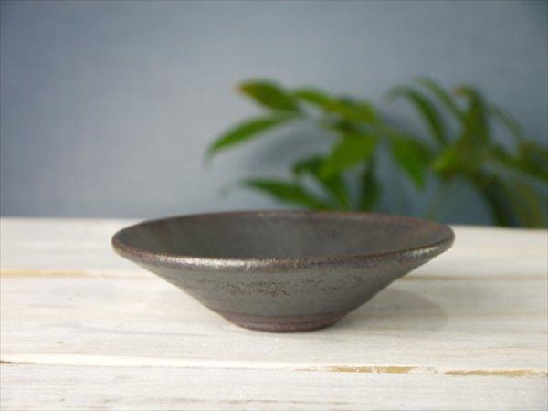 画像1: 陶房かんな/bowl(S)/黒/Φ13.5 X H4 (1)