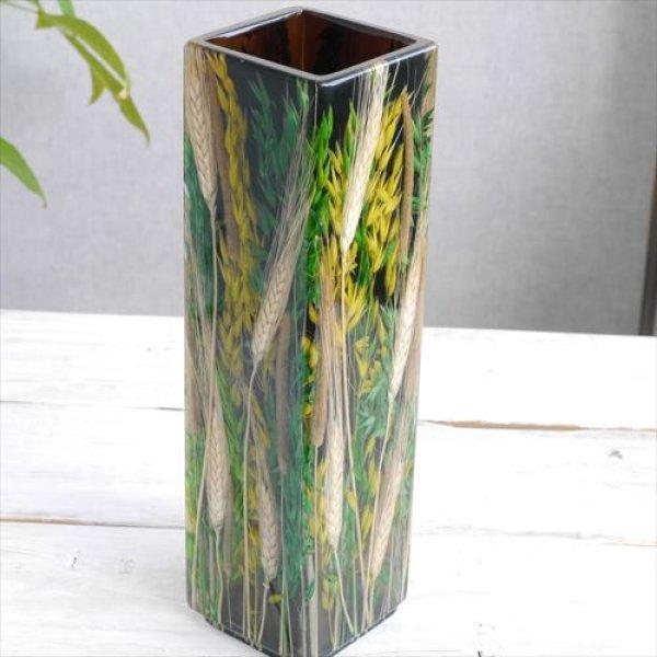 画像1: Riccardo Marzi リカルド マルツィ/Flower Vase/QG(Giallo Verde)/9 X 9 X H33 (1)