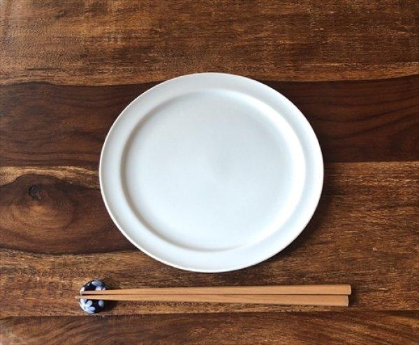 画像1: 愛知 瀬戸/双寿園/典型プレート ブルーホワイト 7寸皿 Φ21×1.6 (1)