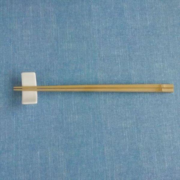 画像1: 箸蔵まつかん/箸/白竹中節/24cm (1)
